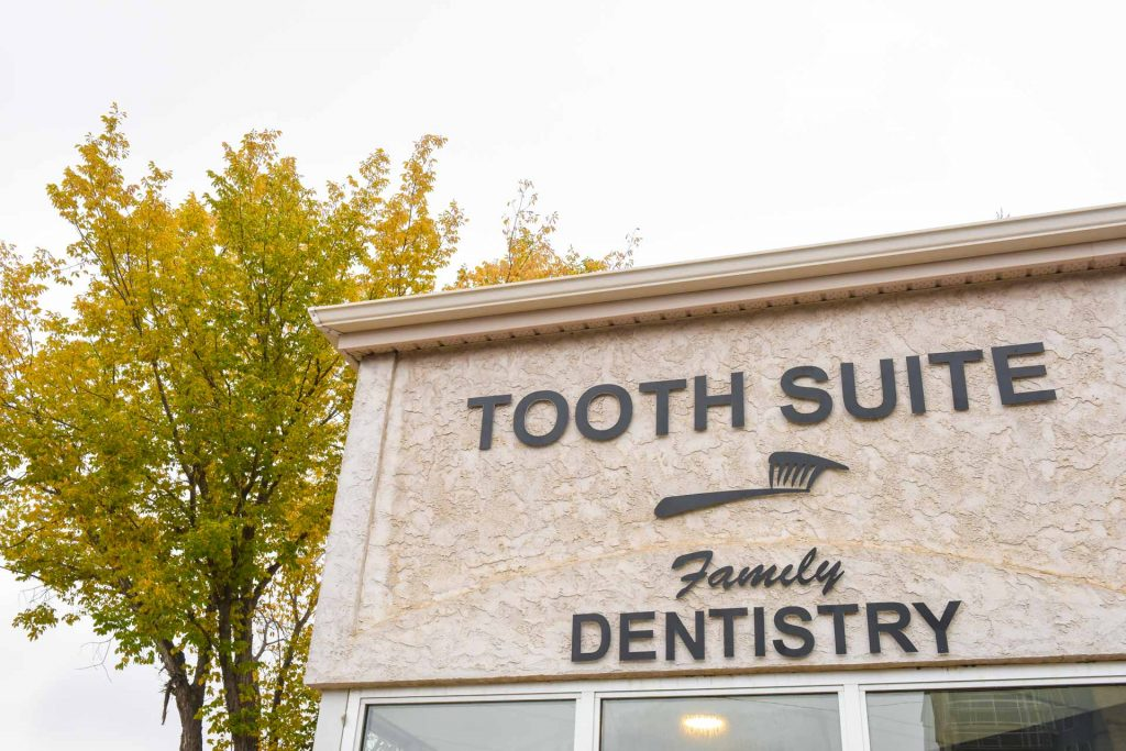 Building Front | Tooth Suite Family Dentistry | Lloydminster Family Dentist