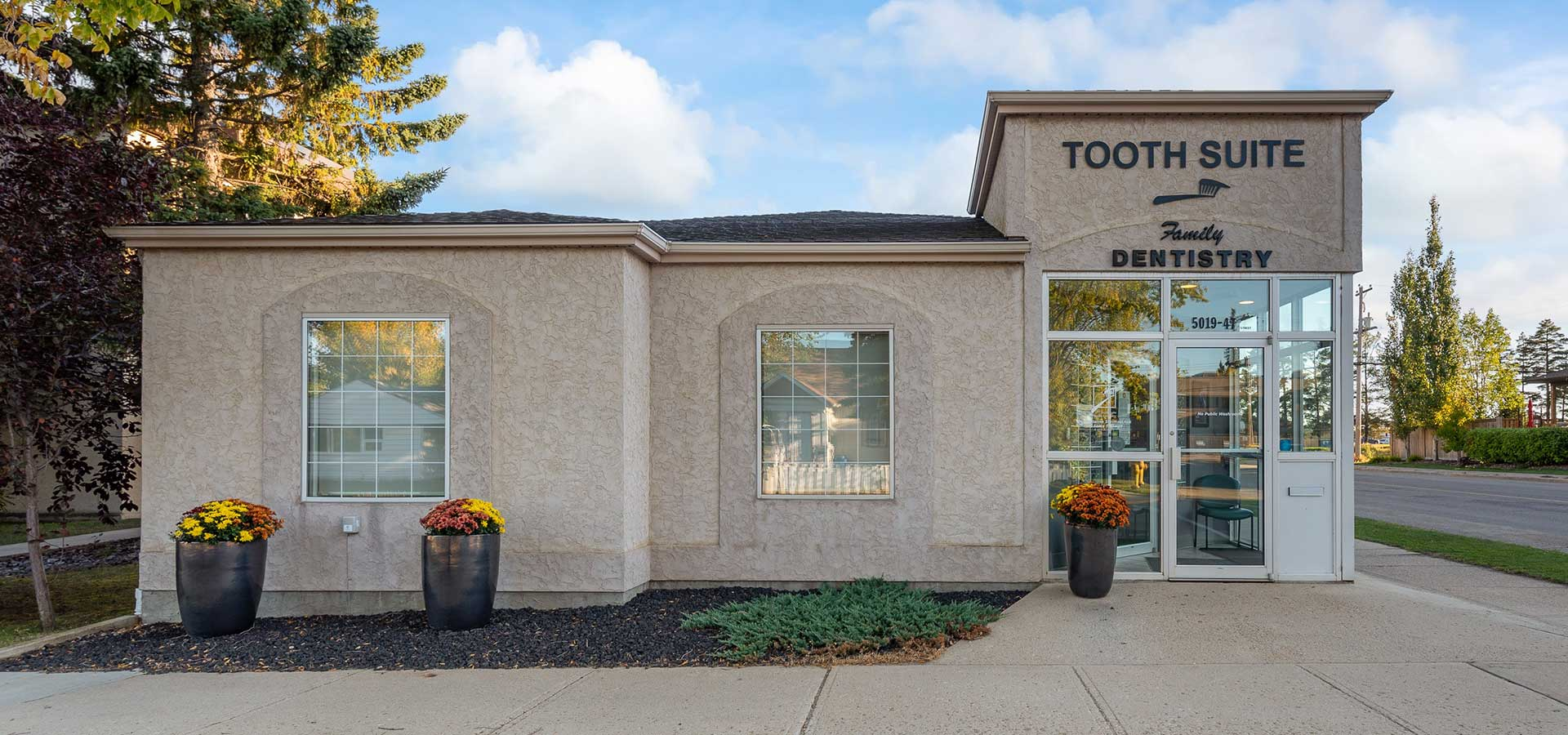 Front of Building | Tooth Suite Family Dentistry | Lloydminster Family Dentist